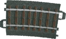 Märklin 24207 MÄRKLIN 24207 H0-Gleis geb. r437,5 mm,7,5 Gr.