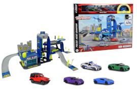 Creatix Police Playset+5 vehicles