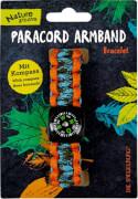 Die Spiegelburg 14105 Nature Zoom - Paracord Armband, Länge ca. 20 cm, sortiert