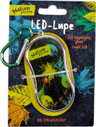 Die Spiegelburg - LED-Lupe mit Karabiner, Nature Zoom, Batterien inkl.