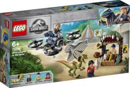 LEGO® Jurassic World 75934 Dilophosaurus auf der Flucht