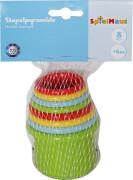 SpielMaus Baby Stapelbecher, 8-teilig, Babyspielzeug, ca. 8x8x10 cm, ab 6 Monaten