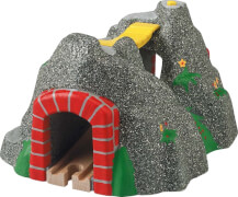 BRIO World 33481 Magischer Tunnel Eisenbahnzubehör für die BRIO Holzeisenbahn Kleinkinderspielzeug mit Effekten