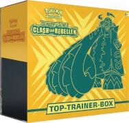 Pokémon Schwert & Schild 02 Clash der Rebellen Top-Trainer Box