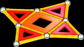 GEOMAG CLASSIC PANELS GREEN Line 35 Teile