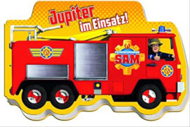 Feuerwehrmann Sam - Buch ''Jupiter im Einsatz'' (interaktiv)