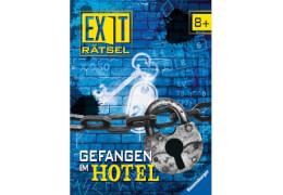 Ravensburger 55553 Exit-Rätsel: Gefangen im Hotel, ab 8 Jahren