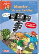 LESEMAUS zum Lesenlernen Stufe 2: Lesenlernen mit Spaß - Minecraft Band 2: Monster bis zum Umfallen