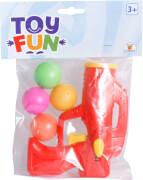 Toy Fun Knallball Pistole inklusive 5 Bällen